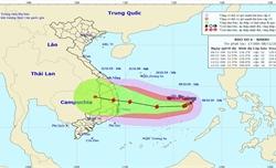 Thủ tướng Chính phủ chỉ đạo ứng phó khẩn cấp bão số 6 Nakri