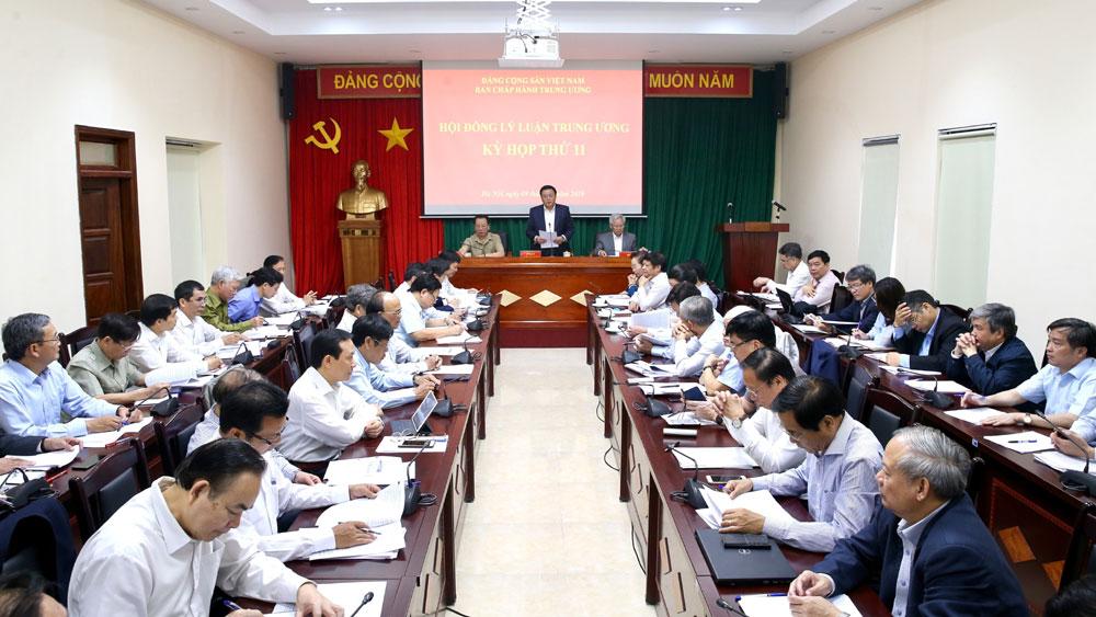 Kỳ họp thứ 11, Hội đồng Lý luận Trung ương nhiệm kỳ 2016-2021