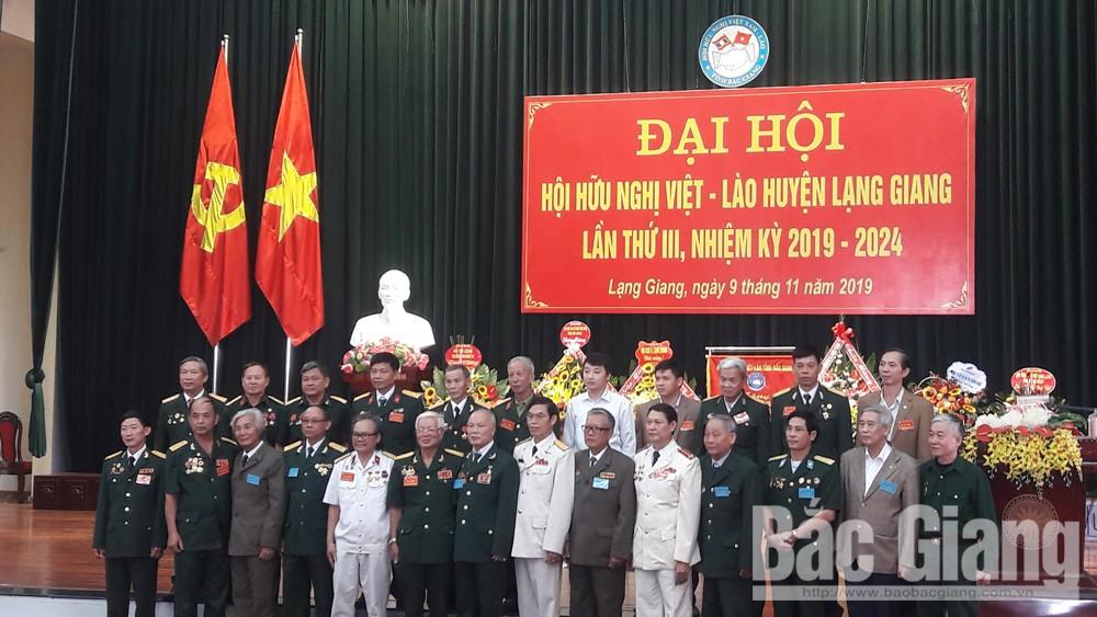 Bắc Giang; Lạng Giang; Hội Hữu nghị Việt Nam- Lào;