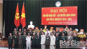 Đại hội Hội Hữu nghị Việt Nam - Lào huyện Lạng Giang