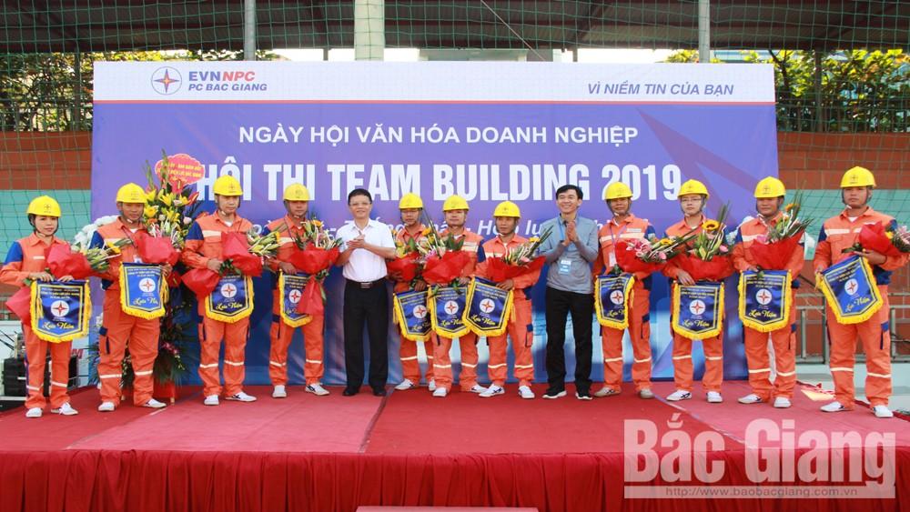 Công ty, Điện lực, Bắc Giang, tổ chức, hội thi, Team-buiding 2019