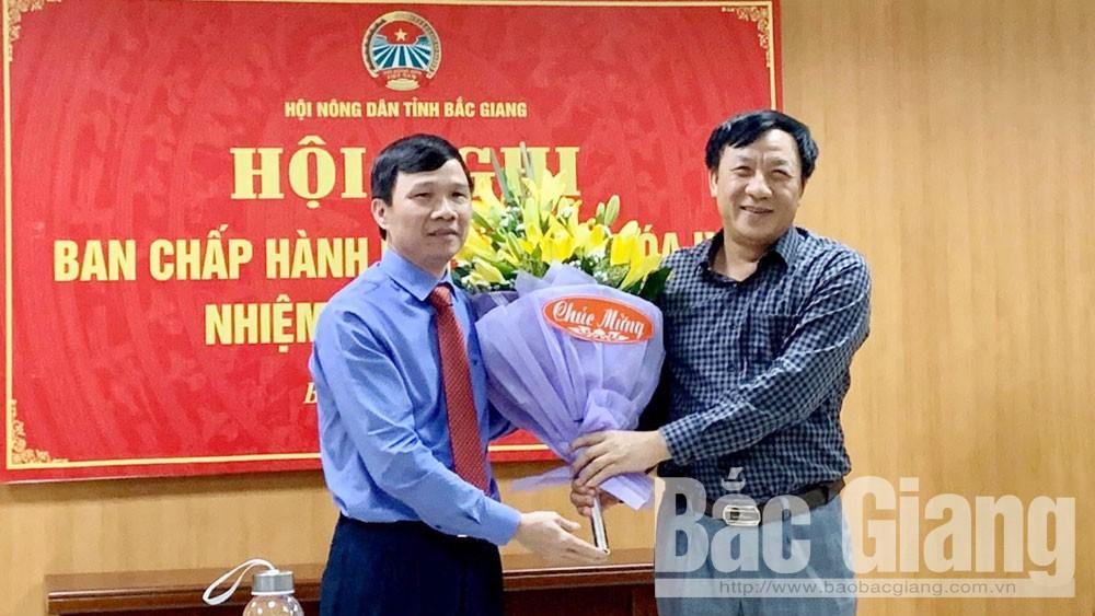 Image - Đồng chí Nguyễn Văn Thi được bầu giữ chức Chủ tịch Hội Nông dân tỉnh Bắc Giang khóa IX, nhiệm kỳ