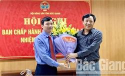 Đồng chí Nguyễn Văn Thi được bầu giữ chức Chủ tịch Hội Nông dân tỉnh Bắc Giang khóa IX, nhiệm kỳ 2018-2023