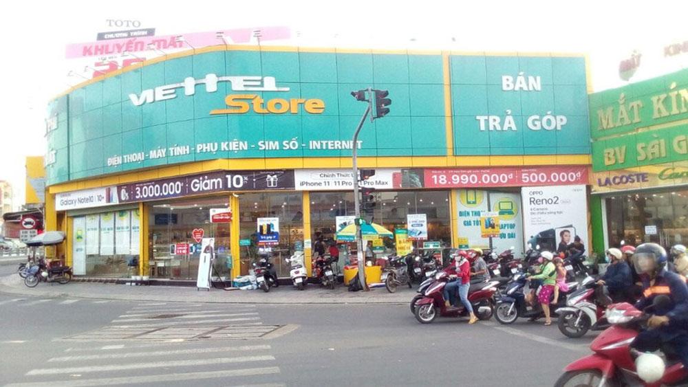 Trộm đột nhập cửa hàng Viettel, lấy đi tài sản hàng tỷ đồng, cửa hàng Viettel Store