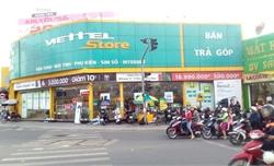 Trộm đột nhập cửa hàng Viettel lấy đi tài sản hàng tỷ đồng