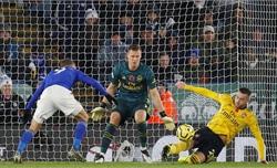 Tiếp đà thăng hoa, Leicester hạ đẹp Arsenal