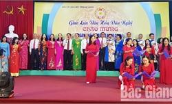 Hội Cựu giáo chức Bắc Giang giao lưu văn hóa, văn nghệ