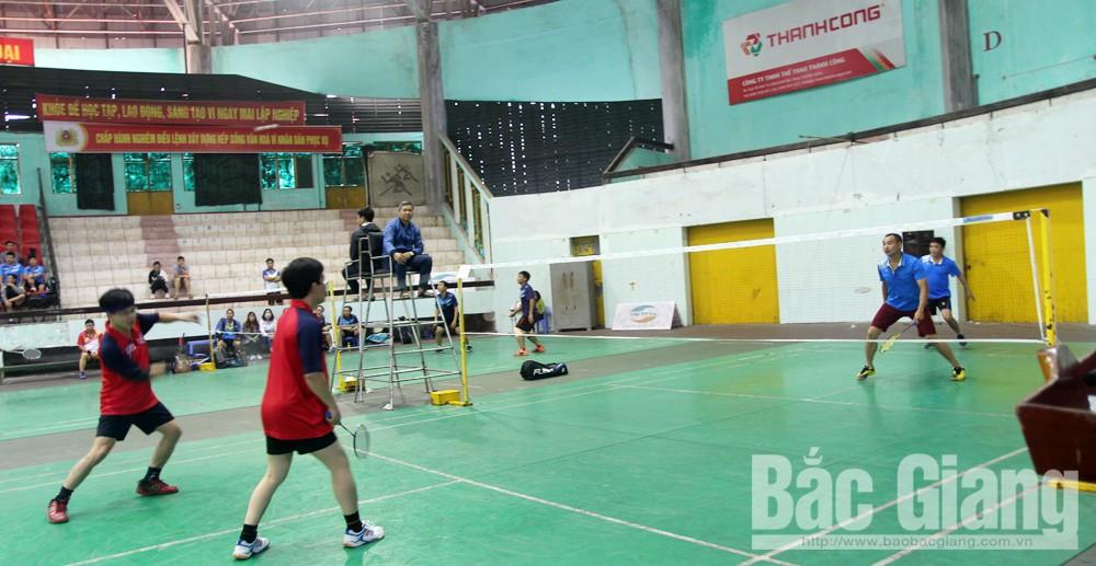 Giải Cầu lông truyền thống, chào mừng Ngày nhà giáo Việt Nam 20-11, bắc giang, thể thao