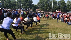 Tân Yên (Bắc Giang): Gần 500 vận động viên tham gia Ngày hội văn hóa công nhân lao động