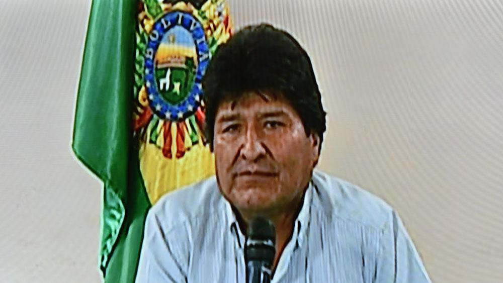 Tổng thống Bolivia, từ chức