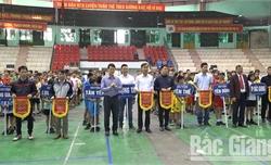 Khai mạc giải đá cầu học sinh tỉnh Bắc Giang năm 2019