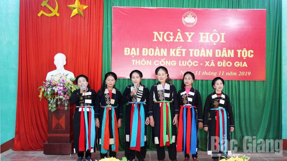 ngày hội đoàn kết, Lục Ngạn, đồng chí Bùi Văn Hải, 18-11