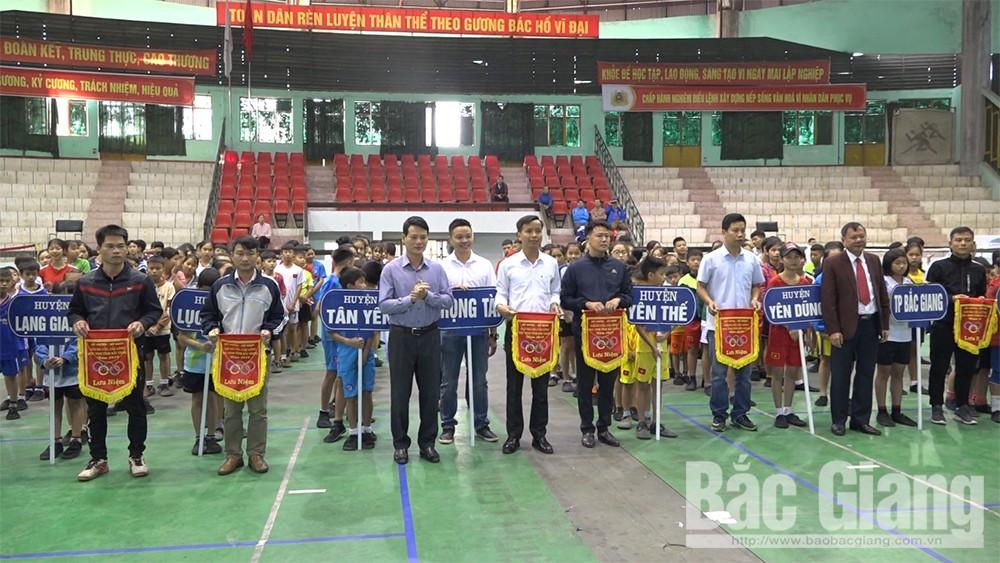 Bắc Giang,  Khai mạc, giải đá cầu, học sinh,  năm 2019
