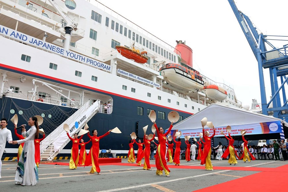 Southeast Asian Youth Programme, Vietnam, 46th Ship, cultural exchanges and friendship, mutual understanding, development and prosperity