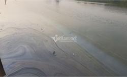 Hải Phòng: Vỡ đường ống dẫn, 7 khối dầu tràn ra môi trường