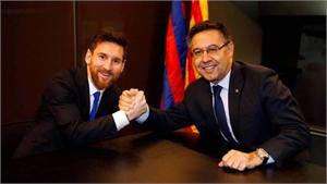 Bartomeu: 'Messi sẽ chơi thêm năm năm cho Barca'