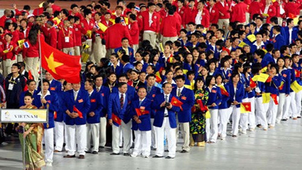 Vietnam, SEA Games, sending-off ceremony, National Sports Administration, gold medal, biggest sporting event