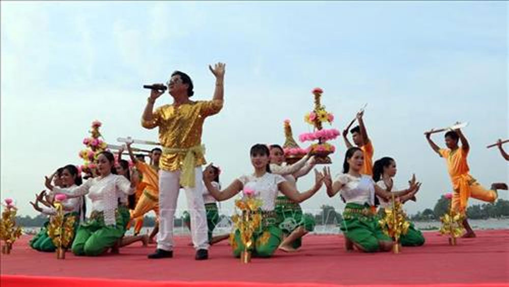 Culture-sport-tourism festival of Khmer people opens in Kien Giang