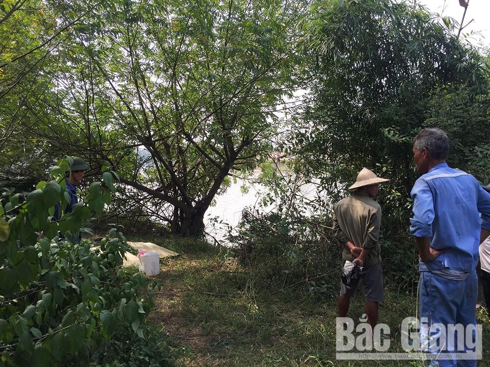chết đuối, thuyền viên, Hải Dương, sông Thương, Bắc Giang.