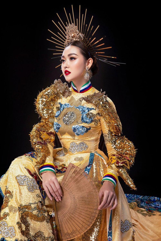 Cận cảnh, bộ quốc phục đẹp nhất, Hoa hậu Quốc tế 2019, Tường San