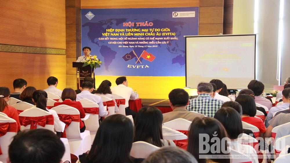 Bồi dưỡng, kiến thức, cho doanh nghiệp, về Hiệp định, thương mại, giữa Việt Nam, và EU