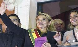 Bolivia có Tổng thống tạm quyền