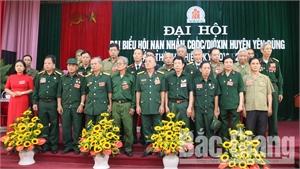 Yên Dũng (Bắc Giang): Bầu 25 đại biểu vào Ban Chấp hành Hội Nạn nhân chất độc da cam/đi-ô-xin huyện