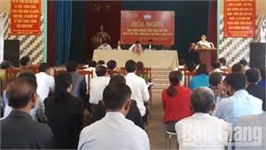 Đoàn đại biểu HĐND tỉnh, huyện tiếp xúc cử tri