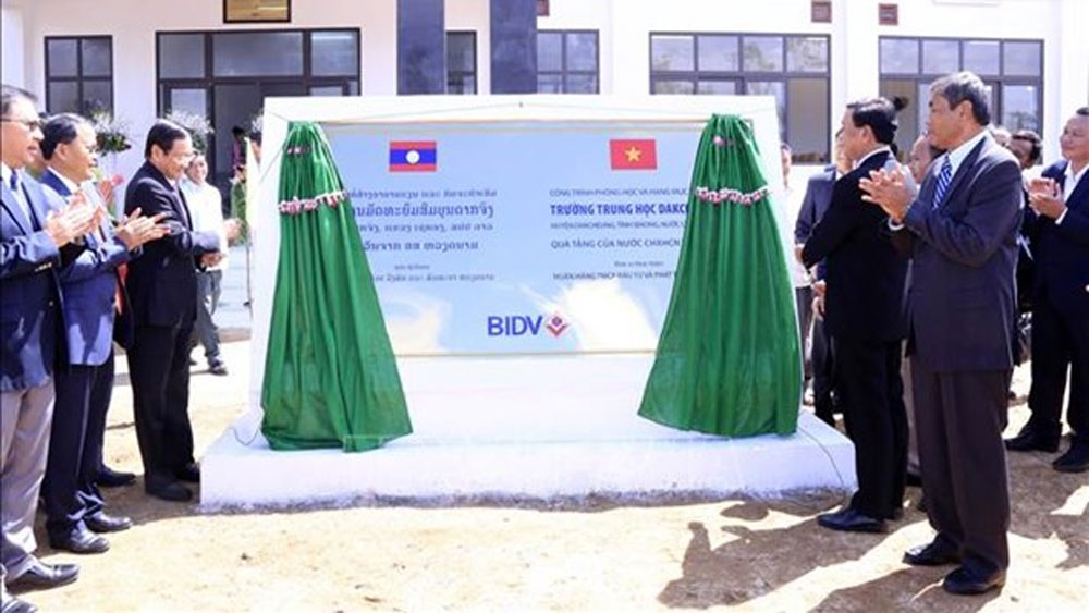 Vietnam-funded school handed over to Laos