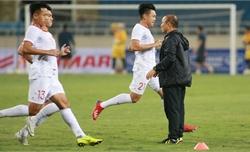 Ông Park thúc giục ở buổi tập cuối trước trận UAE