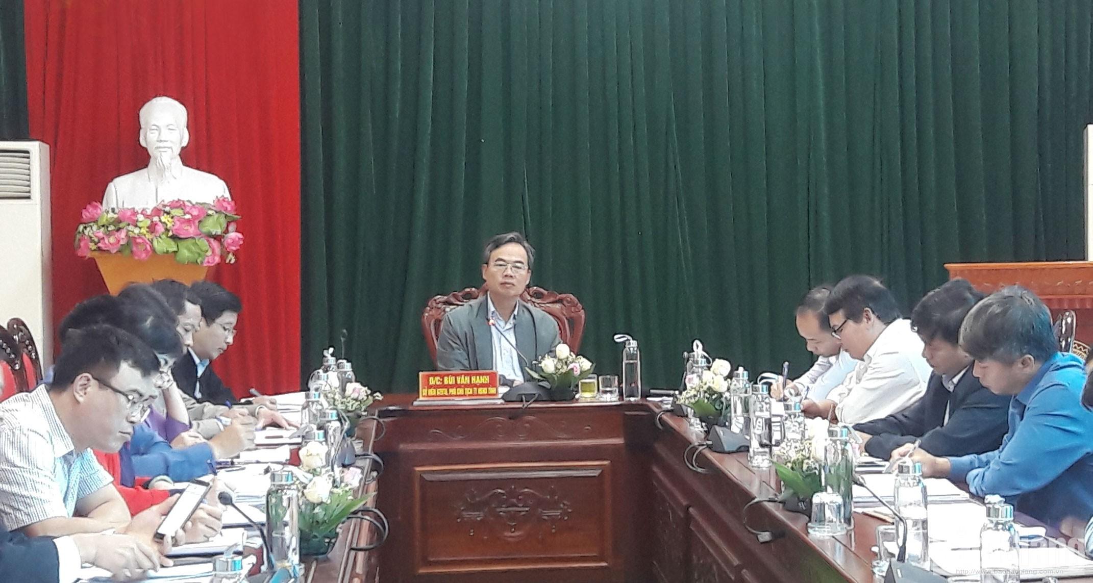 Thường trực HĐND tỉnh giám sát tại huyện Lạng Giang