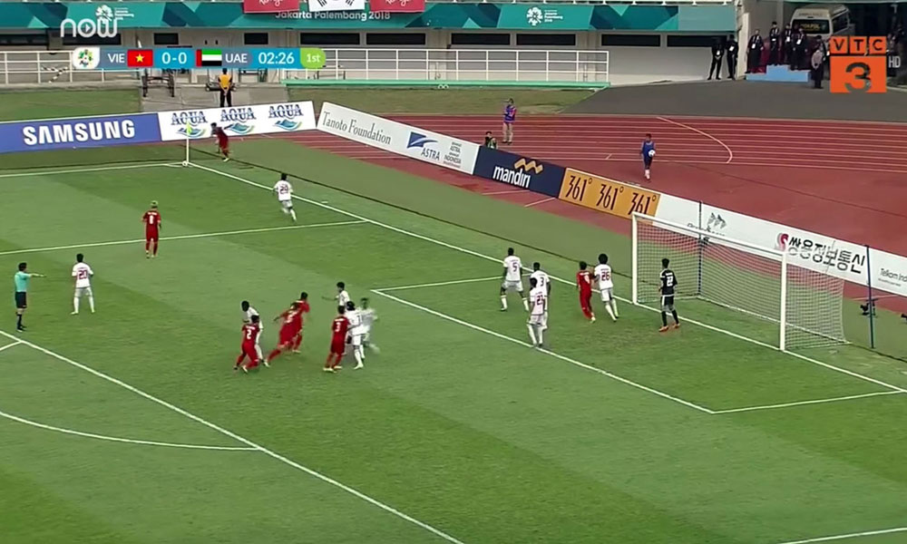 Asiad 2018, đội Olympic Việt Nam, đội tuyển bóng đá Việt Nam, Park Hang seo, đội tuyển bóng đá UAE