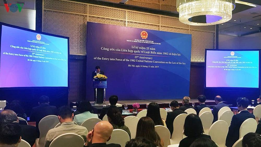 Việt Nam, đề cao tôn chỉ, mục tiêu, nỗ lực thực thi UNCLOS
