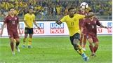Malaysia hạ Thái Lan với tỷ số 2-1 ở vòng loại World Cup