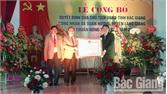 Xã Xuân Hương (Bắc Giang) đón nhận Quyết định công nhận xã đạt chuẩn nông thôn mới