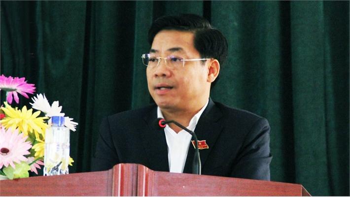 Chủ tịch UBND tỉnh Dương Văn Thái tiếp xúc cử tri huyện Sơn Động