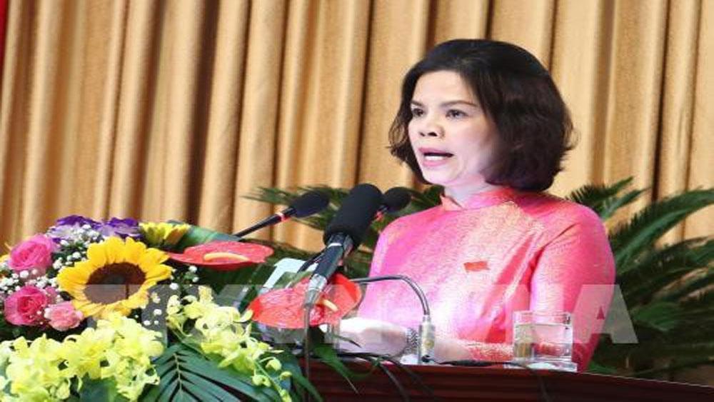 Bắc Ninh, nữ Chủ tịch tỉnh đầu tiên, thành lập tỉnh, bà Nguyễn Hương Giang