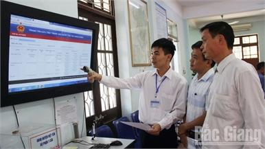 Nâng cấp bộ phận một cửa: Hướng tới xây dựng chính quyền điện tử