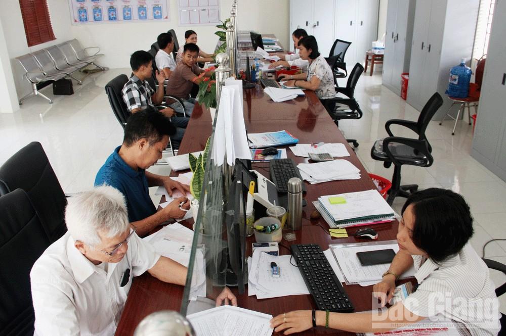 Bắc Giang, bộ phận một cửa, cải cách hành chính, chính quyền điện tử