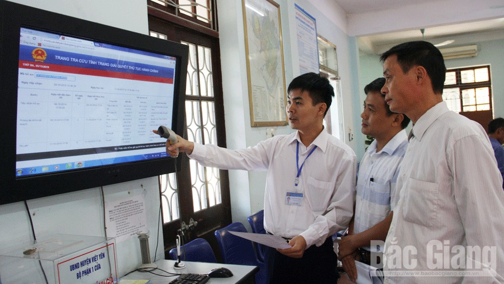 one-stop-shop facilities, e-government, Bac Giang province,  solid and modern manner, administrative reform, standard facilities