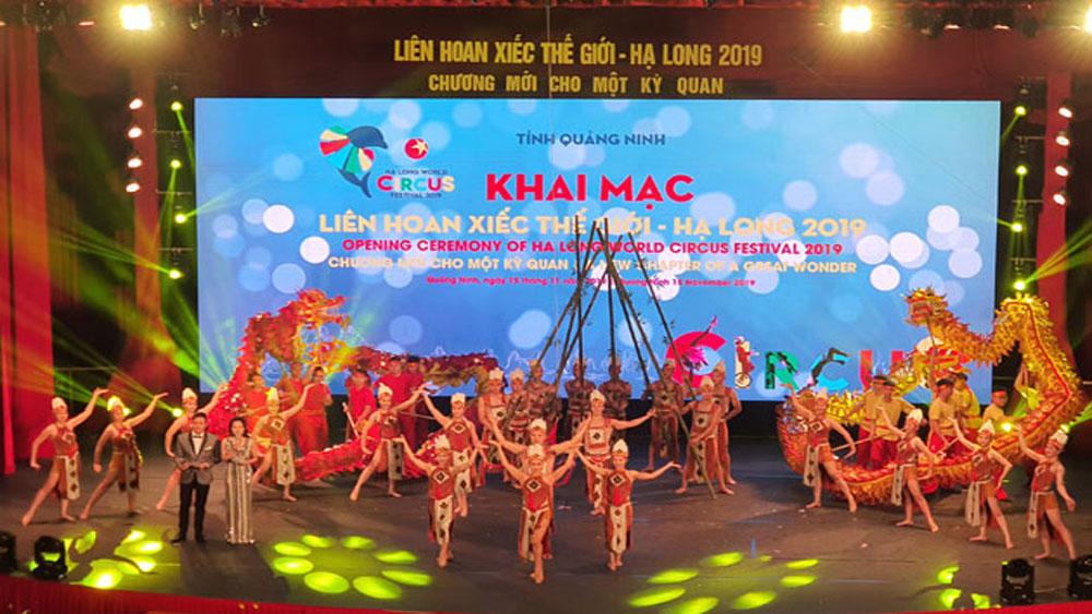 Khai mạc, Liên hoan Xiếc thế giới - Hạ Long 2019