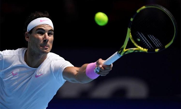 Rafael Nadal, Stefanos Tsitsipas, ATP Finals, Nadal, Tsitsipas