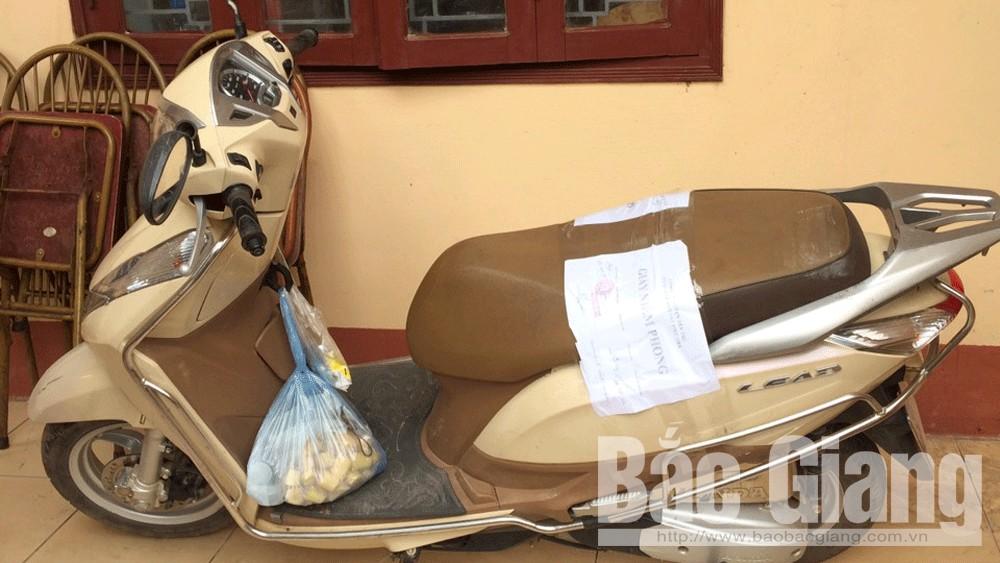 Công an Bắc Giang, cướp tài sản, dùng bình xịt hơi cay cướp tài sản, Yên Thếg