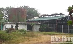 Một doanh nghiệp ở phường Thọ Xương (TP Bắc Giang) vi phạm về môi trường