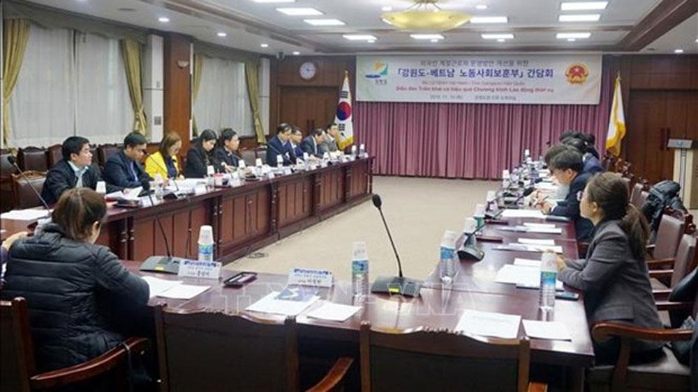 Gangwon province of RoK seeks to recruit seasonal Vietnamese labourers