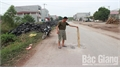 Khắc phục điểm sụt lún trên đường tỉnh 292