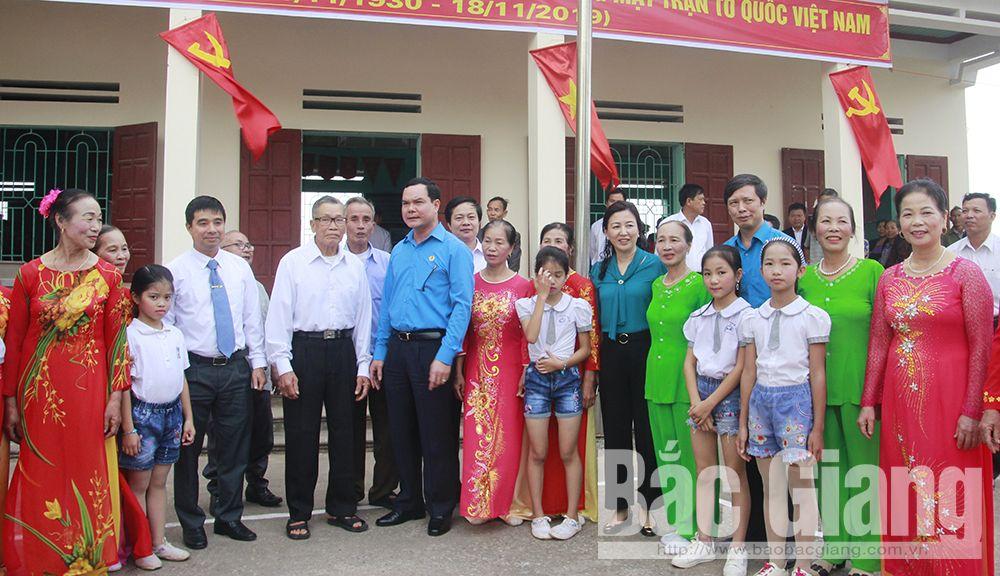 Nguyễn Đình Khang, Tổng Liên đoàn Lao động Việt Nam, An Hà, bắc giang, ngày hội đoàn kết