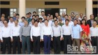 Bộ trưởng Bộ Tài Nguyên và Môi trường Trần Hồng Hà dự Ngày hội Đại đoàn kết tại Bắc Giang