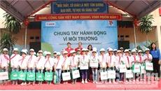 Công ty Canon Việt Nam phối hợp tổ chức hoạt động vì môi trường tại Bắc Giang