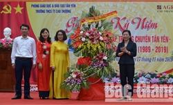 Trường THCS thị trấn Cao Thượng (Tân Yên) kỷ niệm 30 năm thành lập